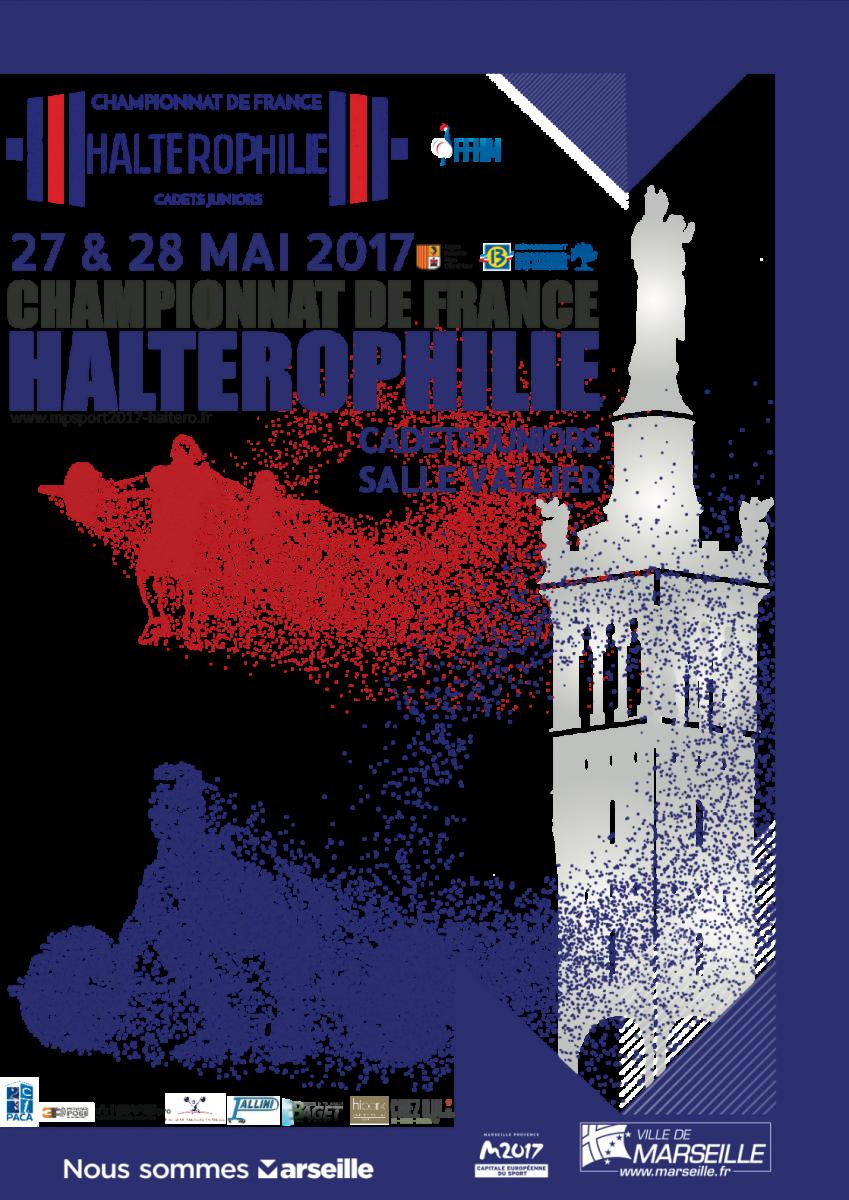 Championnats de France  - Cadets Juniors - Haltérophilie - 2017